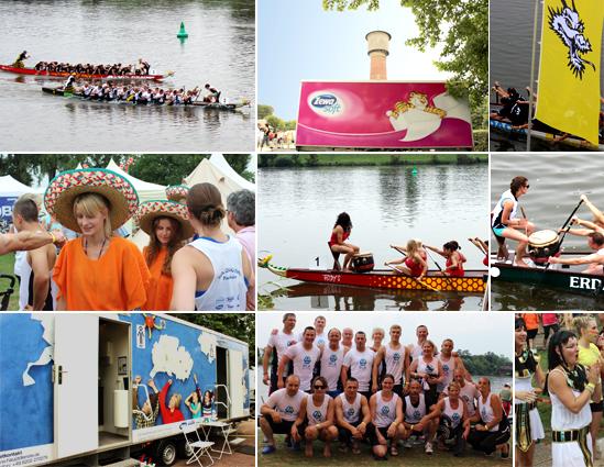 Fotos Drachenbootrennen Ladenburg 2014