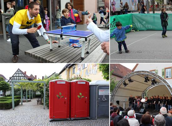 Schwetzingen bewegt sich am Spargelsamstag