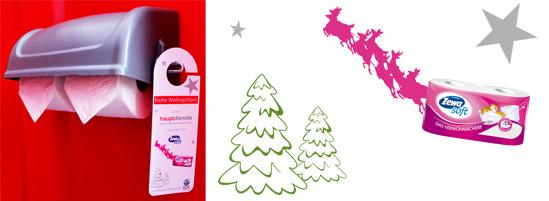 Zewa Soft Toilettenpapier als Weihnachtsgeschenk