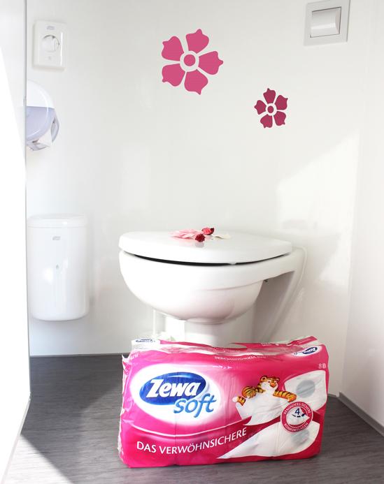 Zewa Soft Toilettenpapier jetzt in allen hauptdienste Toilettenwagen!