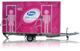 Zewa Soft verwöhnweich Toilettenwagen