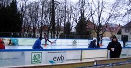 Foto Eislaufbahn Bruchsal
