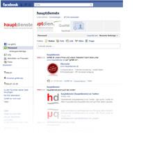 hauptdienste bei Facebook