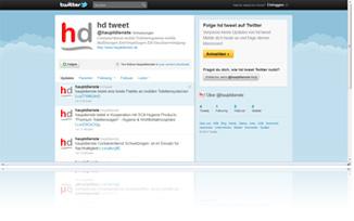 hauptdienste bei Twitter