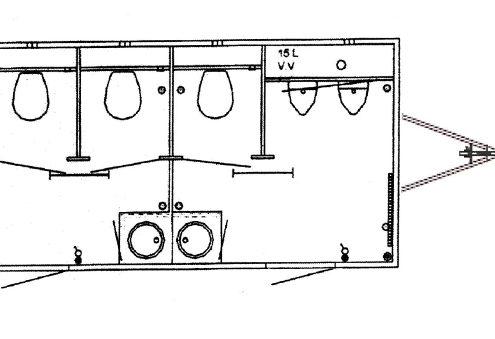 Zewa Toilettenwagen (2+1)